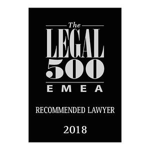 Recommended Lawyer 2018
